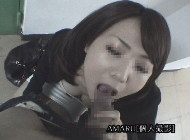 【個人撮影】セレブ人妻の上品でネバっこいフェラ【口内発射