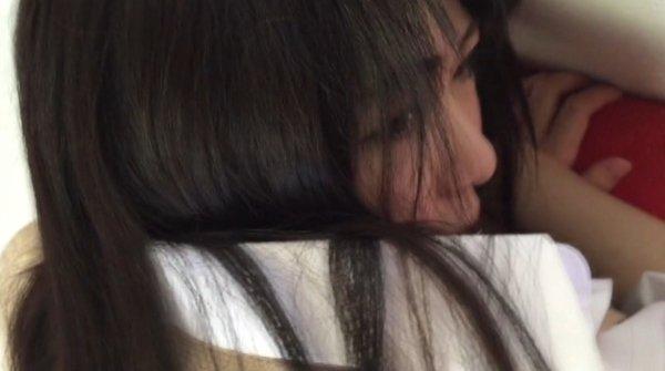 ■【  20】北関東在住の無職、おっとりちっぱい黒髪スレンダー透き通る白さ【顔出し】■