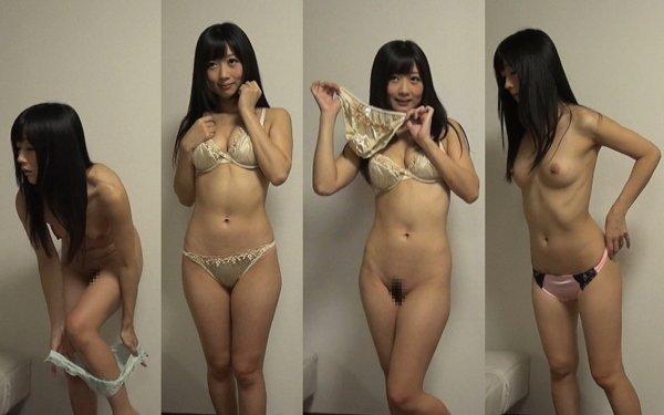 下着撮影32-1★隠し撮り★★パンツ★★ブラ★★綺麗な美乳お姉さん★  ★★