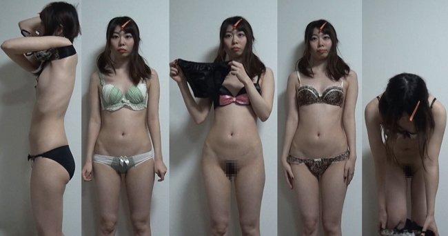 下着撮影57★隠し撮り★★パンツ★★ブラジャー★★素人女子大生★  ★★