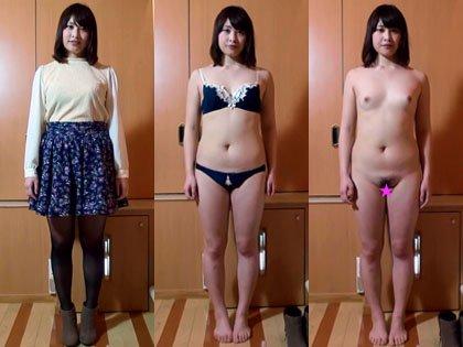 ■素人娘 全裸鑑賞 ★陽菜 【個人撮影】