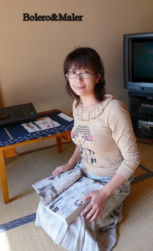 有名になりました。実はこれが本当のデビュー作品です。 青木美里 41歳