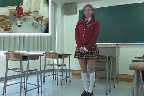 【素人】ギャル風JのK美少女と限界超え撮影会 教室編 PART.1 ウミうっしー dgpot.com