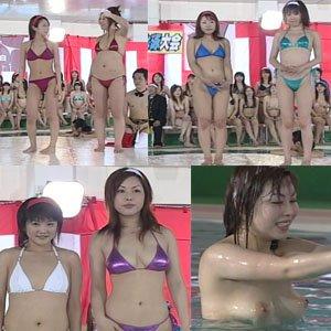【水中早着替え6名】女だらけのTバック水泳大会!水中コスプレ早着替え競争! ゾクゾクタウン dgpot.com