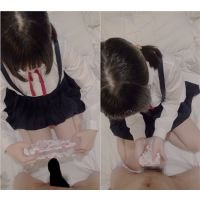 激○C「ぱんつでこすってきもちいいの?」シミ付き1日着用パンツで包んで手コキ=ぱんつコキ  ダウンロード